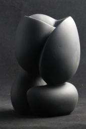 Le coeur 20 cm Resine rd'après original en grès 500E